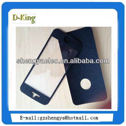 shining diamond matte skin guard for iphone 5