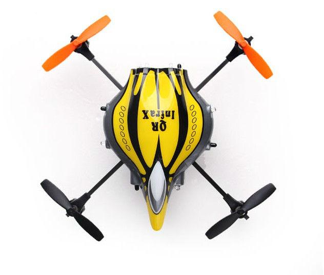 F04563 Newest Walkera Infra X Walkera QR Infrared Quadcopter 6-Axis RC UFO RTF + Devo 4 4ch Tran ...
