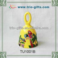 Handpainting decorative souvenir gifts ceramic bell