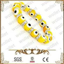 Bracelet Beads with Evil Eye