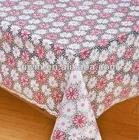 Vinyl laminated table cloth