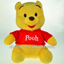 2013 winnie bear plush toys
