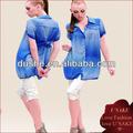 diseño de moda dama casual blusa de gasa top