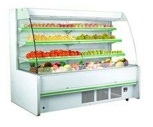 supermarket refrigerator and freezer