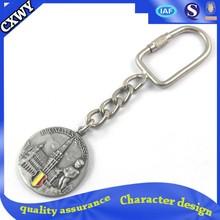 custom metal token keychain