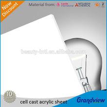 Opal White/Milky Acrylic Sheet PMMA