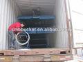 caminhão de descarga de rampas