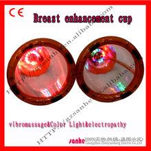 Multifuncion electro stimulation breast nipple enlargement equipment
