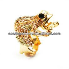 frog diamond ring