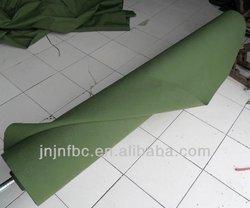 Grass green wearproof pure cotton canvas tarpaulin