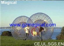 inflatable grass ball, grass zorb ball, grass rolling ball