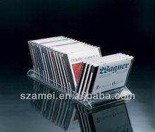 directly sale transparent acrylic CD display storage