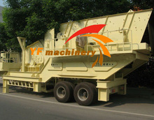 good performance and high efficiency portable sand making plant mobile crusher plant
