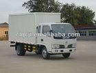 Hot 4x2 dongfeng van cargo truck
