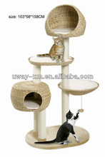 2013 hot selling Paradise Banana-Leaf pet furniture for cats