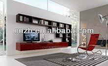 2012 modern tv cabinet design demet acrylic mdf wardrobe door