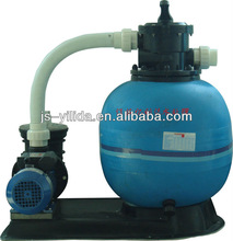 High volume and high speed sand cylinder water filter
