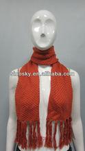fashion 100%acrylic short scarf