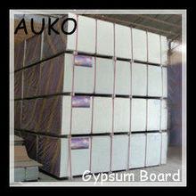 Light weight gypsum board ceiling installation