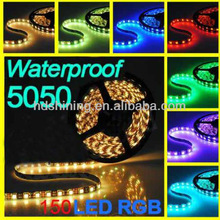 2012 New!!! 5M 16.4Ft waterproof strip LED light + IR Remote Control + Power Supply
