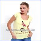 2013 hot sale new design fashionable korea women t shirt