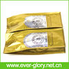 Gold Aluminum Foil Side Gusset Coffee Bag with Valve