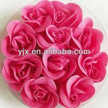 polyester satin ribbon rosette