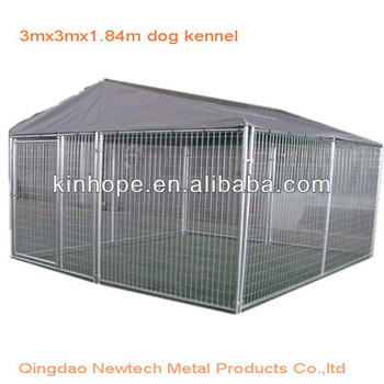 3mx3mx1.84m indoor dog kennels