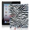 for the New iPad Zebra Strips Hard Case