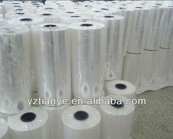 High gloss soft plastic PVC clear film/sheet