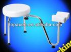 Adjustable Pedicure Manicure Nail Tattoo Foot Leg Rest Stool Station Chair Kit