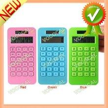 Portable Environmental Friendly Corn Plastic Solar Calculator
