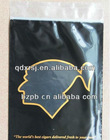 ziplock reclosable plastic tobacco pouch /cigar bags