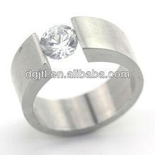 Various hot selling stainless steel diamond ring settings