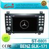 Mercedes benz slk r171/ slk 280 auto radio car gps player 2004-2011 with gps navigation high quality & hot selling