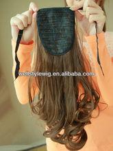 Wholesale Synthetic Ponytail/Hair Falls/Hair Pieces,human hair drawstring ponytail