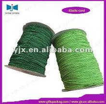 green polyester elastic rubber yarn