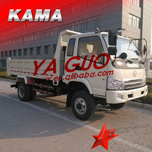 KAMA light dump truck 4x4 diesel mini truck