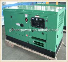 Ningbo Diesel motor electricity Sound Proof housing Diesel Generator