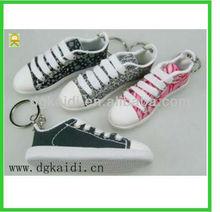 Cute mini shoe key chain