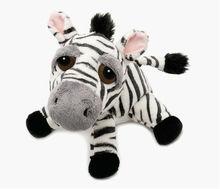Soft Toys 85761 B4 Stripes the Zebra Teddy Bear Stripes the Zebra has a grey fluffy nose and ears and black feet