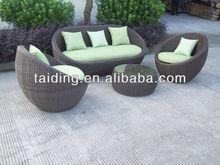 2014 popular style wicker sofa