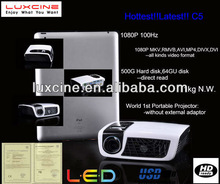 XMAS Promotion!!! C5 3500 lumens led projector