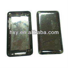 Black color replacement case for ipod touch 4