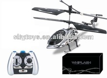 !3ch Mini RC Helicopter 9809 2012 Hot sale!!! Aluminum gift box with a gyro helicopter quad helicopter