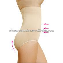 Women's high waist tummy control brief panties seamless slimming & shaping underwear ladies shaper underwear