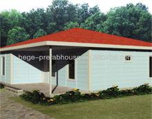 Luxury prefab houses in panel