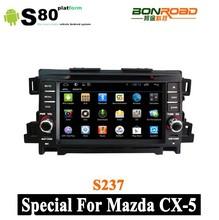 Bonroad Car Stereo Navigator for Mazda CX 5 2010-2012 support 3g wifi