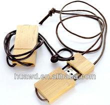 Fancy Wooden Lanyard USB 8mb