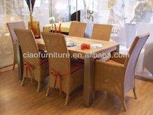 G- Round wicker kitchen table